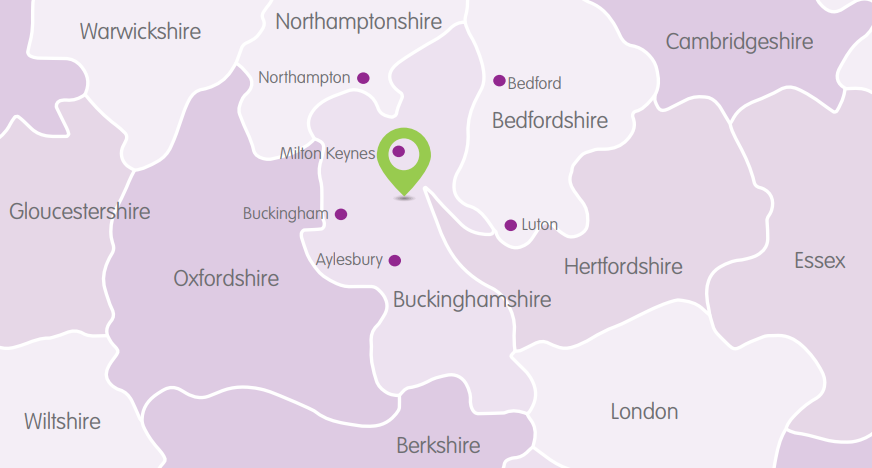 Bletchley Location