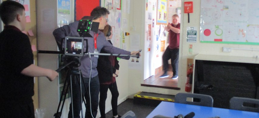 Cambian Hereford School get creative with GCSE Film Studies image