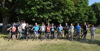 Grateley House School's charity bike ride from London to Brighton