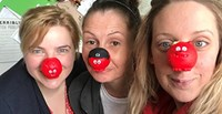 Scarborough's Red Nose Day and Beach Clean