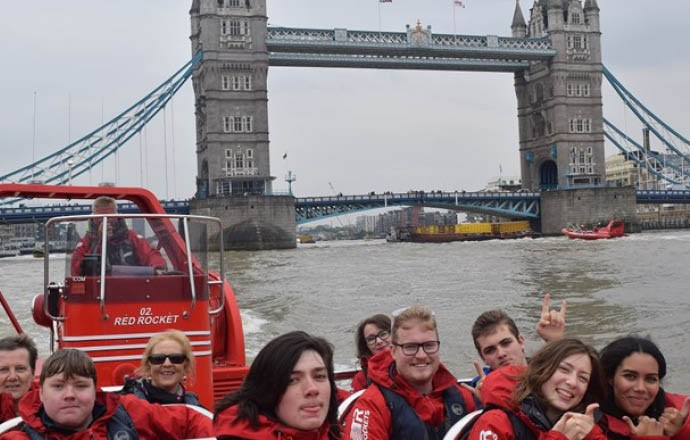 The Grateley House School thrill seekers take on London